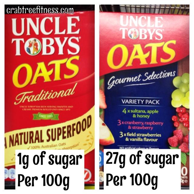 shunningsugar oats