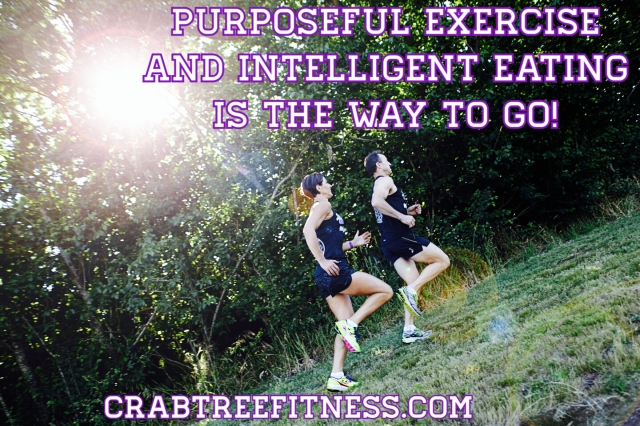 Purposeful exercise and intelligent eating